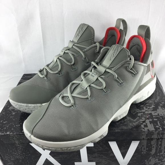 detailed look dc43c 579a7 Nike Lebron xiv Low Basketball shoes men's stucco NWT